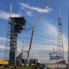 Astronaut Access Arm and White Room Installed At Cape Canaveral Air Force Station