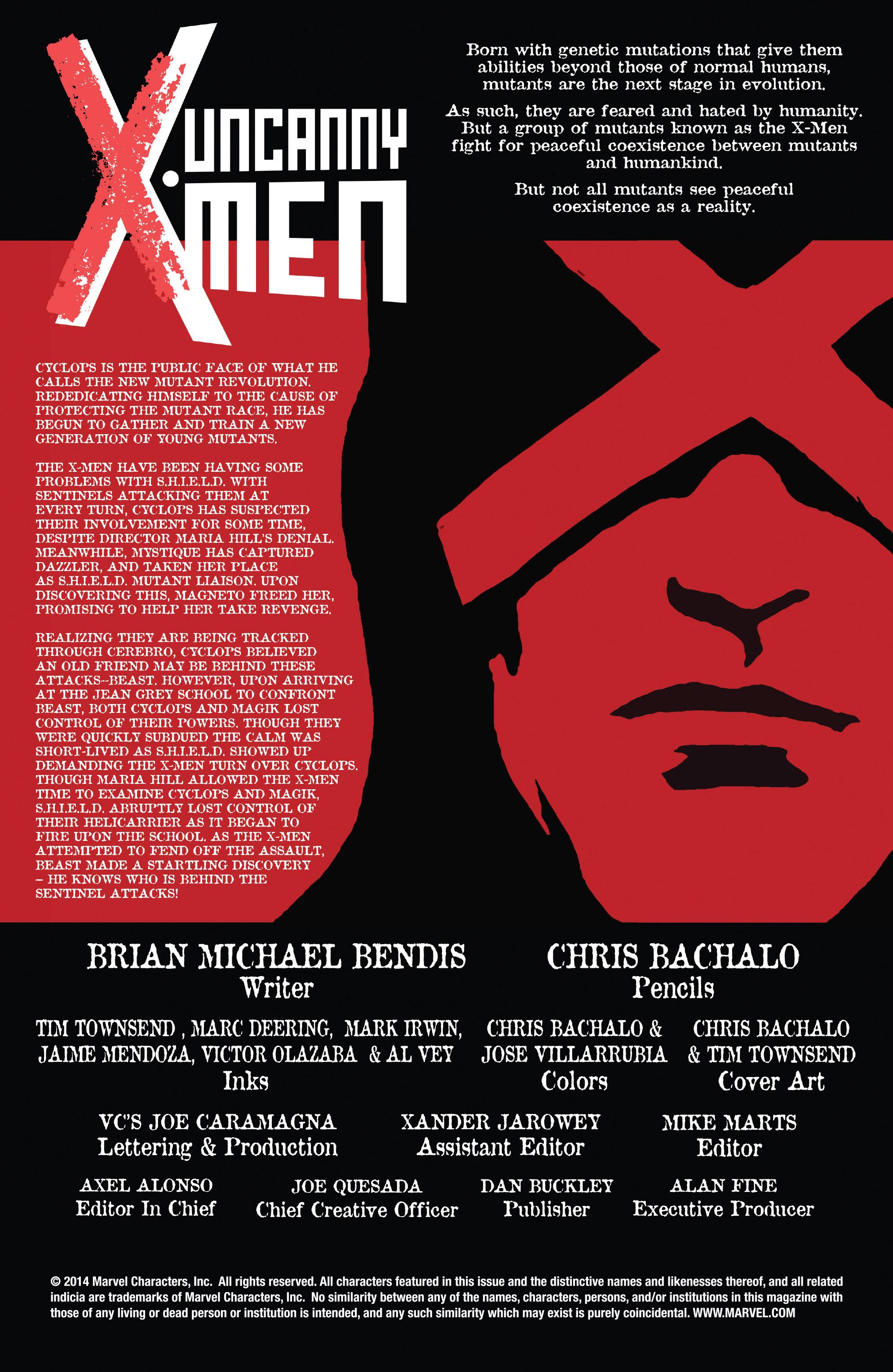 Read online Uncanny X-Men (2013) comic -  Issue #22 - 2