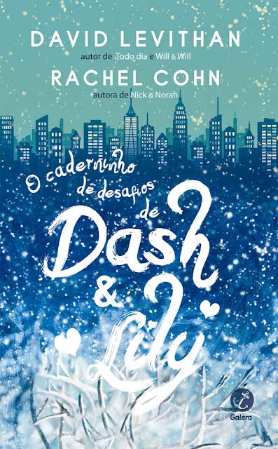 O caderninho de desafios de Dash & Lily David Levithan