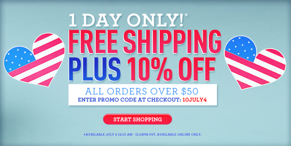 Forever 21 Independence Day Sale