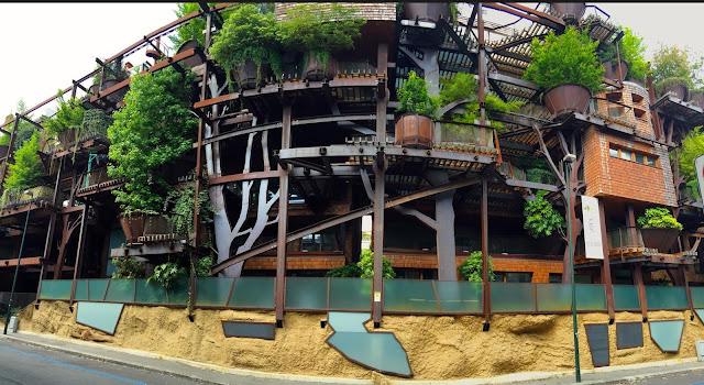 """Torino: 25 Verde è un """"edificio – foresta""""."""