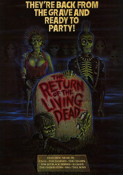 Return of the living dead Part I (1985) ผีลืมหลุม ภาค 1
