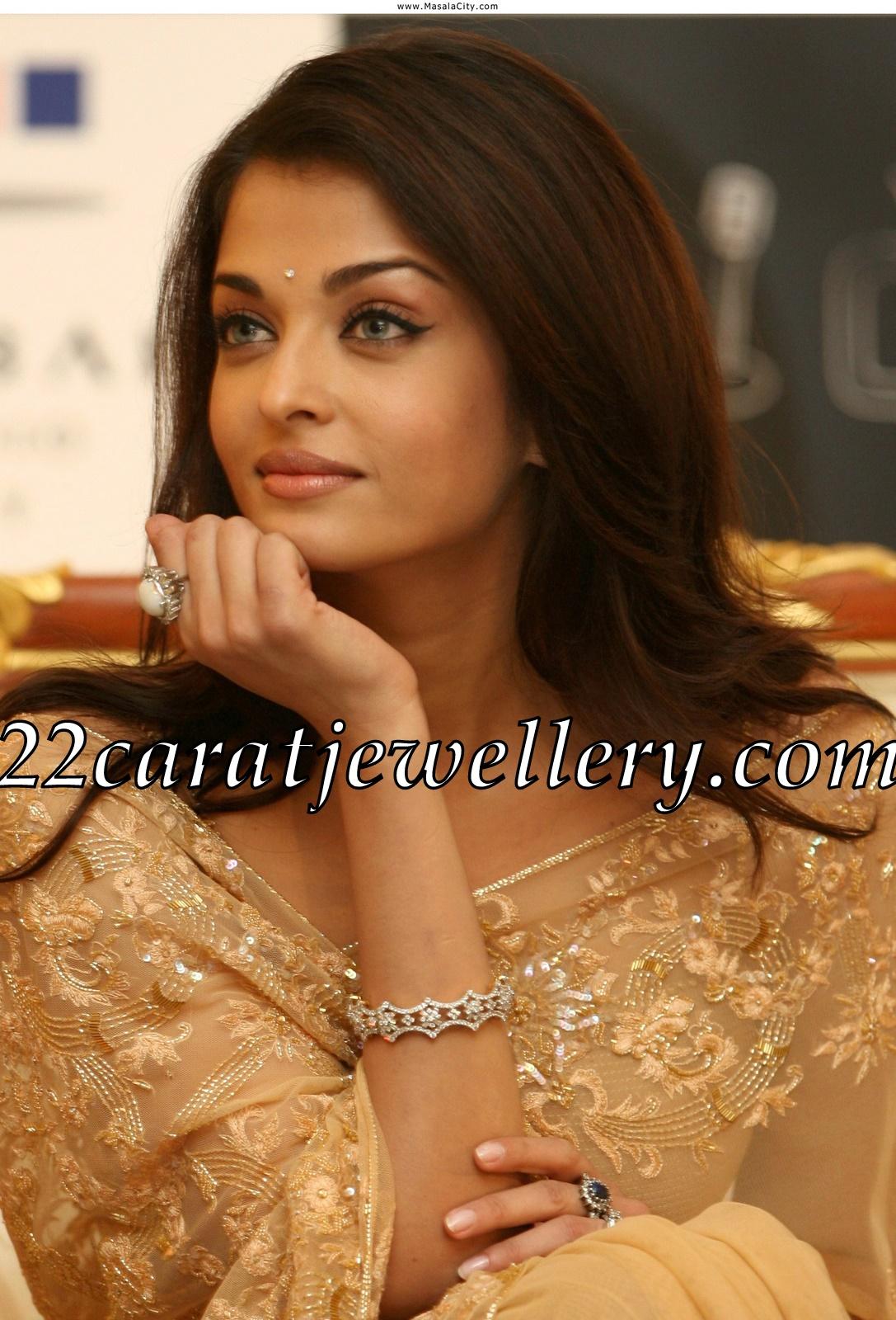 aishwarya rai diamond earrings and bangles gallery
