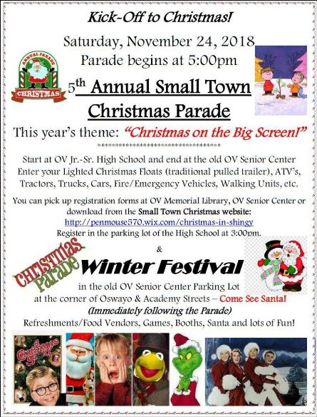 11-24 5th Annual Small Town Christmas Parade