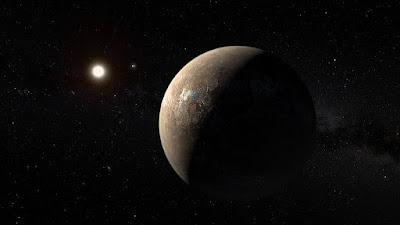 Próxima b, el exoplaneta más cercano a la Tierra