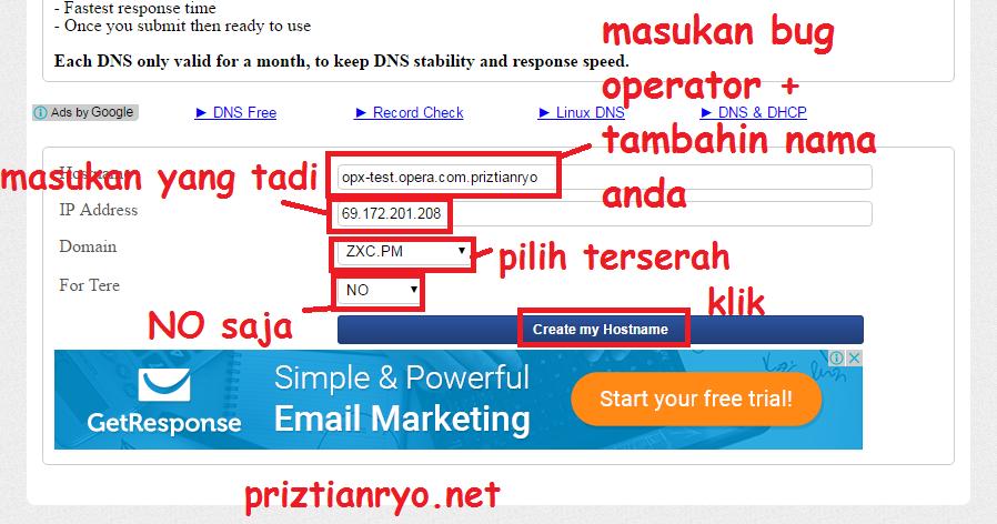 Cara Pointing Domain SSH di FastSSH Terbaru - PR-Tech
