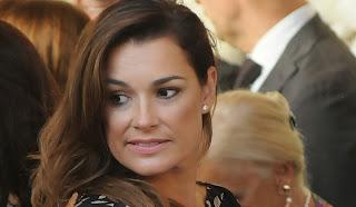 Alena Seredova alle nozze di Chiellini...da single