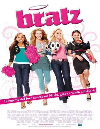 Poster Of Bratz The Movie 2007 Dual Audio 300MB Web-DL 480p ESubs Free Download Watch Online Worldfree4u