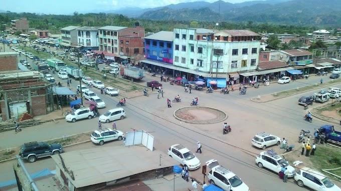 Palos Blancos: municipio paceño, Bolivia