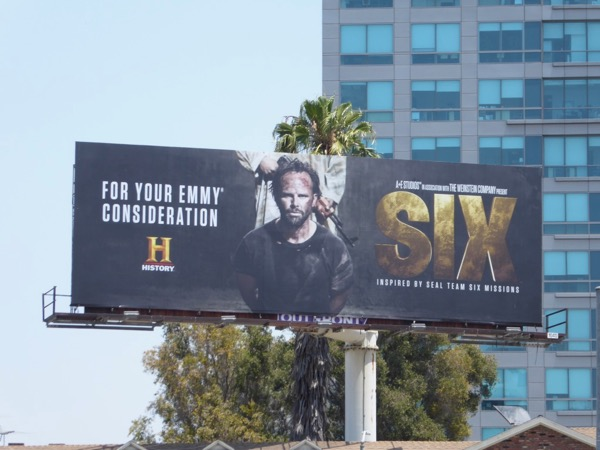 Six 2017 Emmy consideration billboard