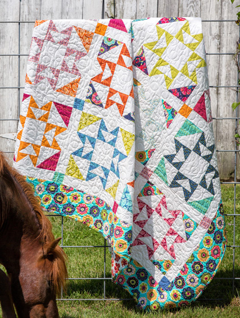 Pony Express Quilt Free Tutorial