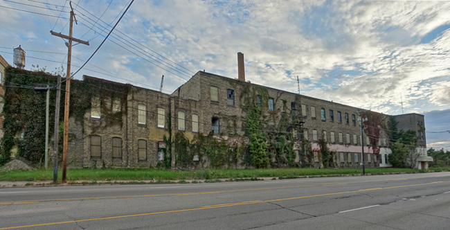 Abandoned Wilson Brothers Factory in South Bend Indiana