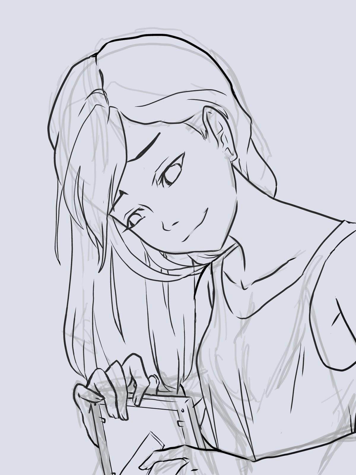 Manga Interest Sad Anime Girl Process On Manga Studios