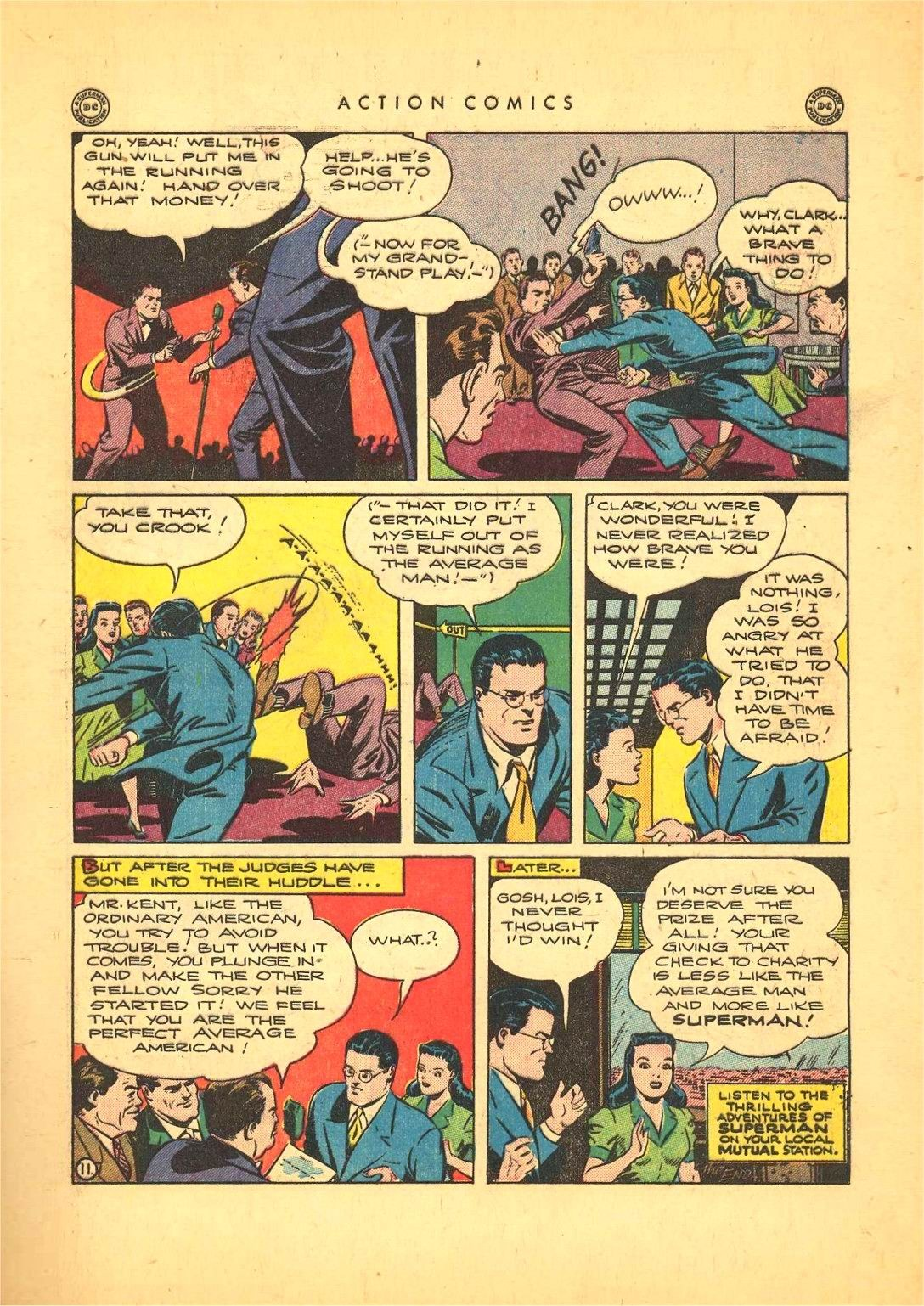 Read online Action Comics (1938) comic -  Issue #92 - 13