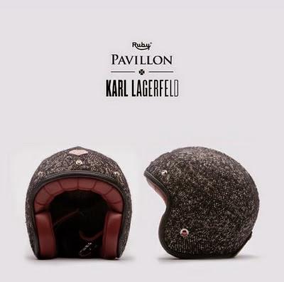 karl lagerfeld motorcycle helmet