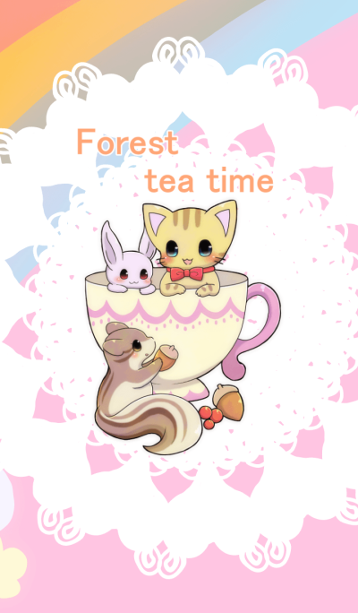 Forest tea time Overseas Version