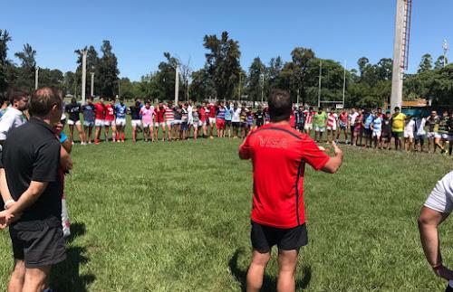URT: entrenamientos en el Centro de Rugby