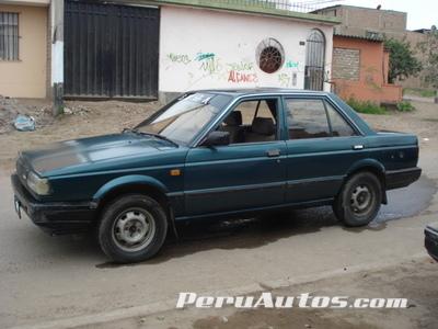 f3ade5d9a Autos Usados: Vendo Nissan Sunny 1987 - Lima, Perú