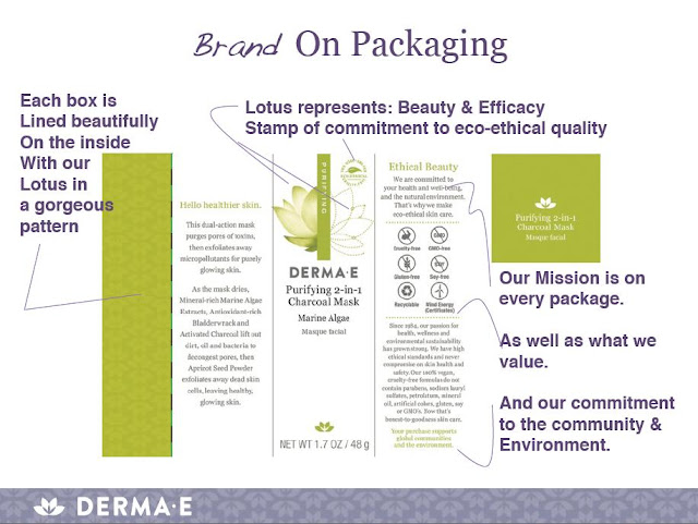 Derma E, skin care, packaging