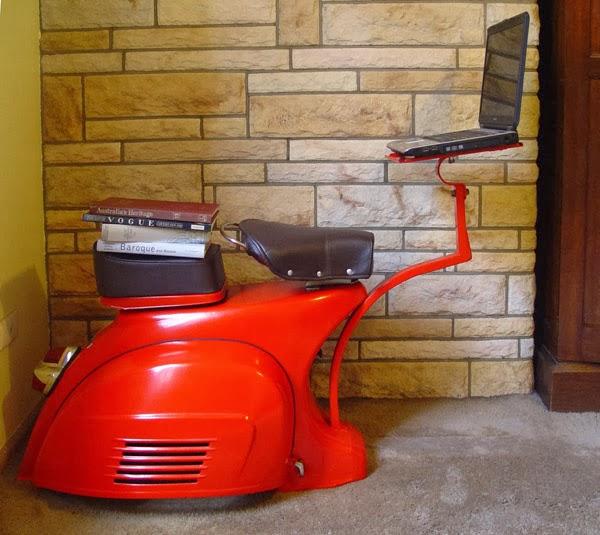 vespa desk - Garagem do Colecionador: VESPA - PX200E 1986