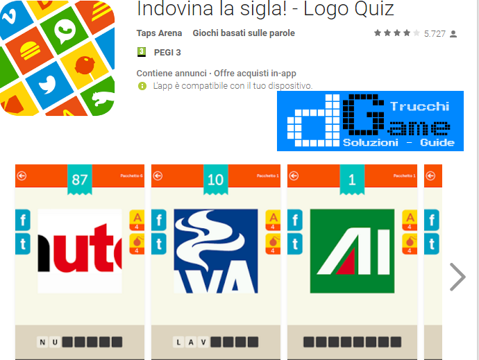 Soluzioni Indovina la sigla! di tutti i livelli | Walkthrough guide