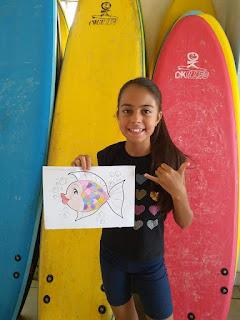 Escola municipal de surf da Ilha Comprida apresenta o surf arte