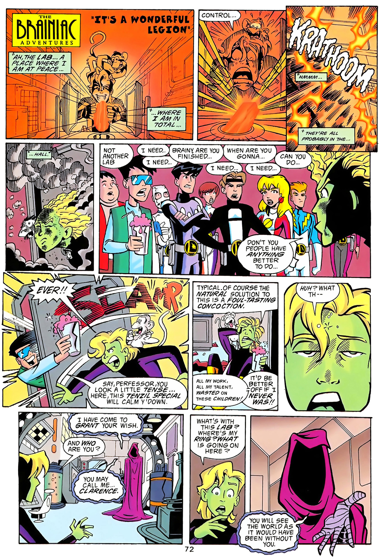 Legion of Super-Heroes (1989) 100 Page 65