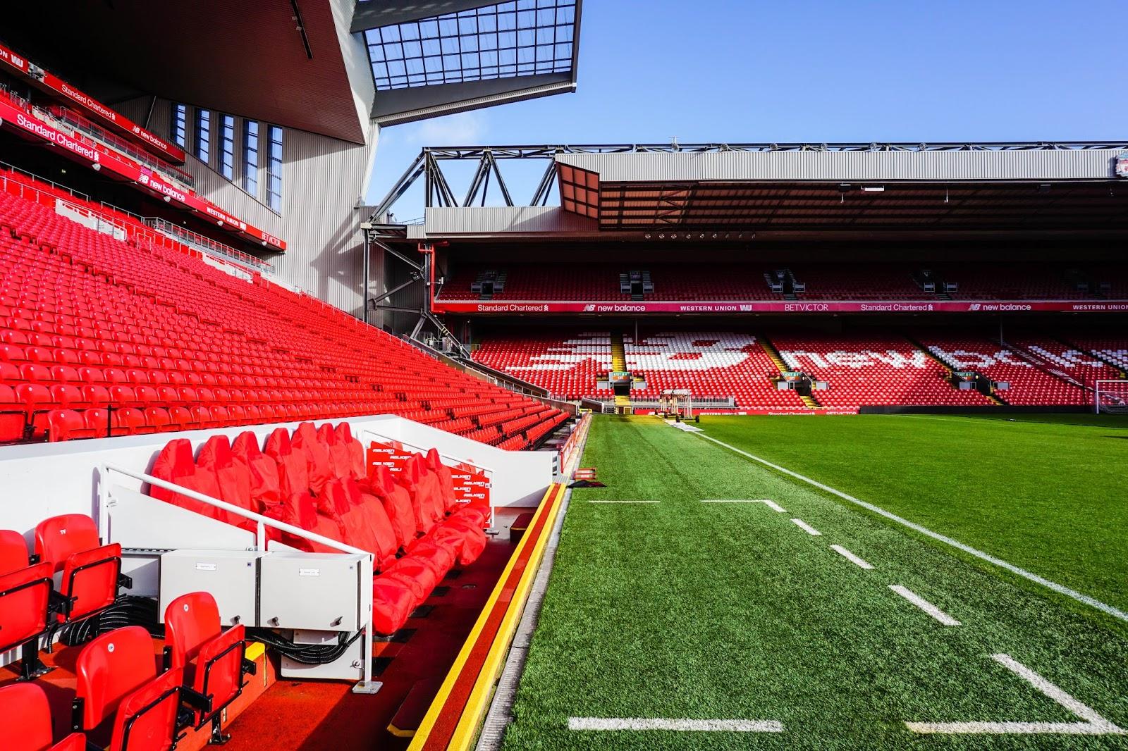 Zwiedzanie stadionu | Anfield | stadion Liverpool FC