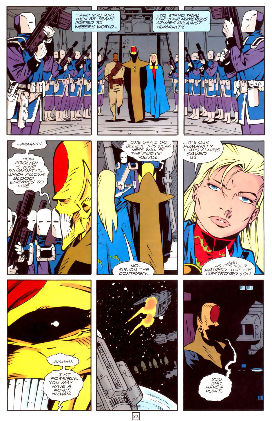 Legion of Super-Heroes (1989) 35 Page 23