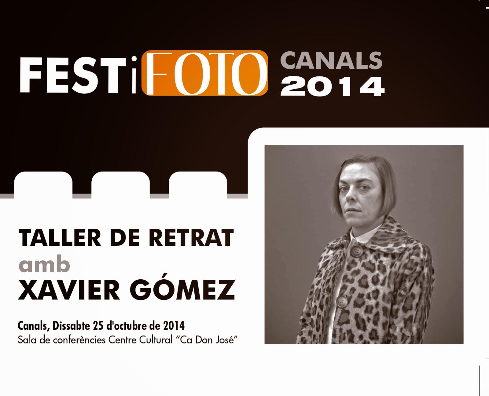 TALLER PRÀCTIC DE RETRAT a càrrec de Xavier Gómez .