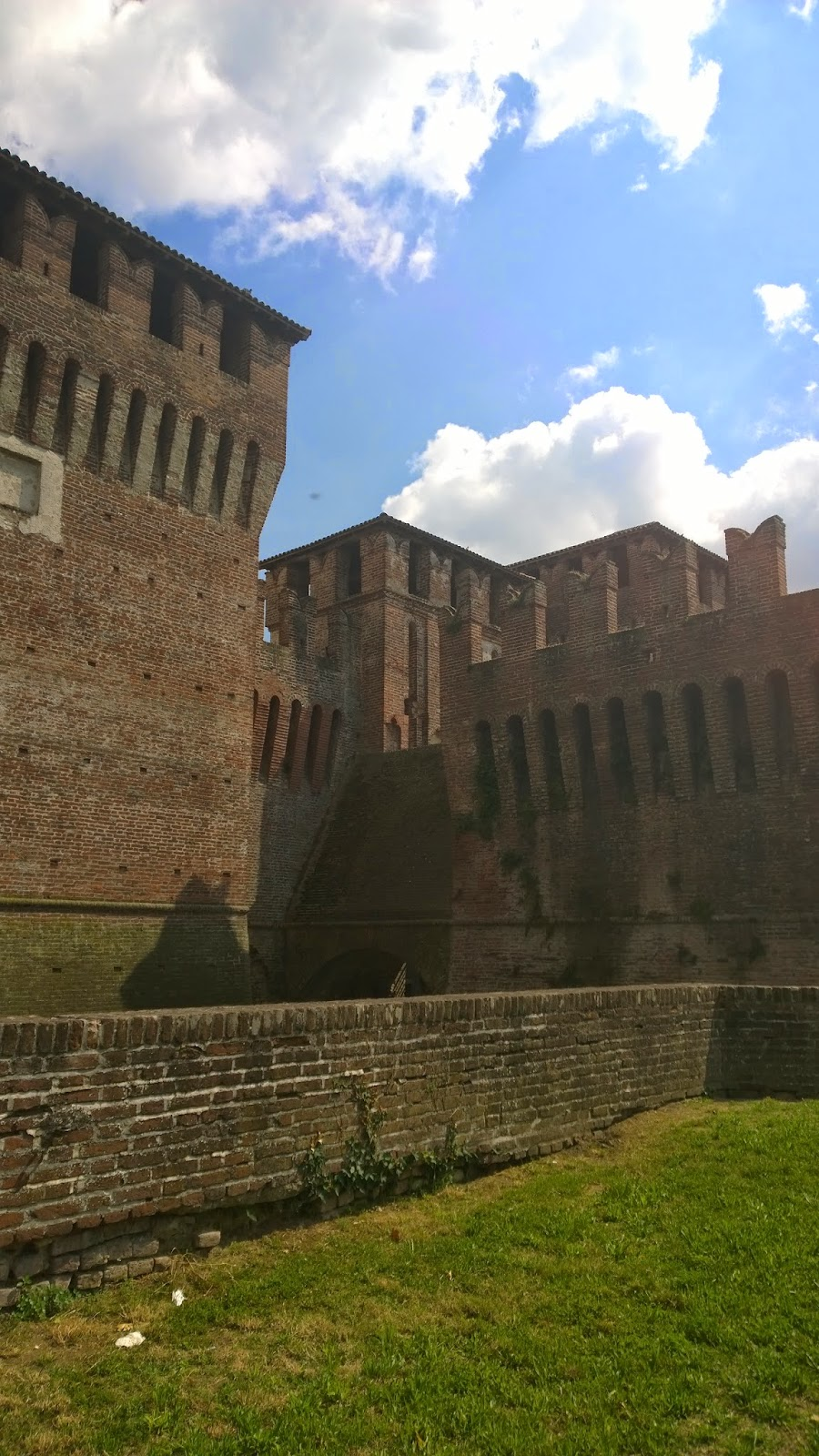 Castle at Soncino, Lombardy, Italy