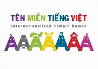 Tên miền tiếng Việt có dấu