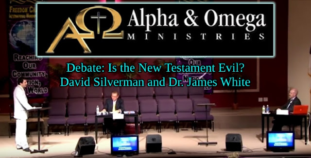 James White shows that atheist David Silverman is incoherent