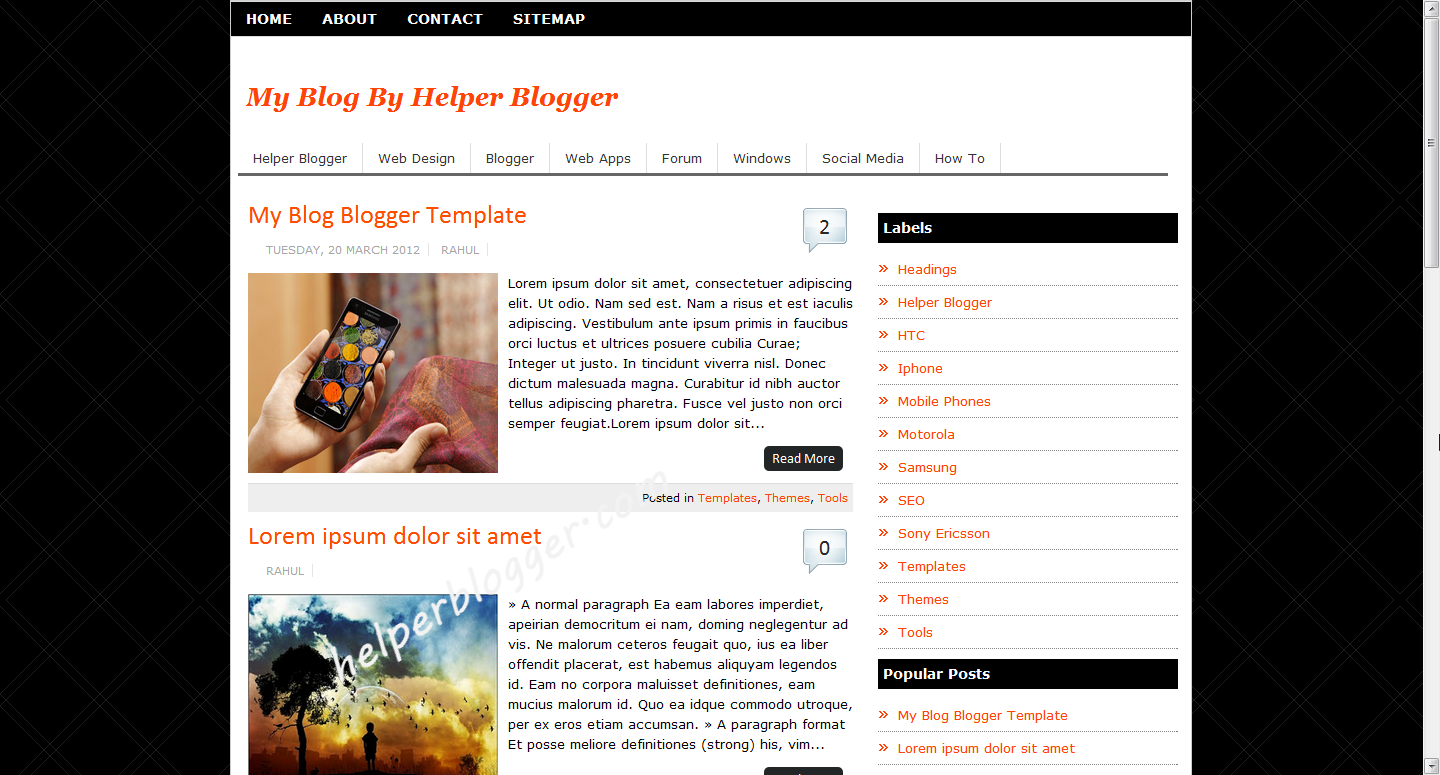 Blogger templates professional full version free software for Pro photo blog templates