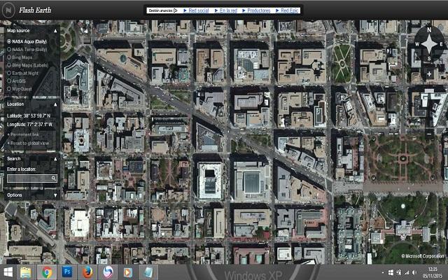 أفضل ثلاثة مواقع لمشاهدة منزلك وأي منطقة حول العالم عبر الأقمار الإصطناعية