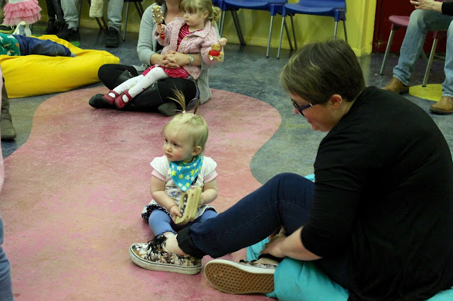 music and movement class at butlins just for tots break in minehead
