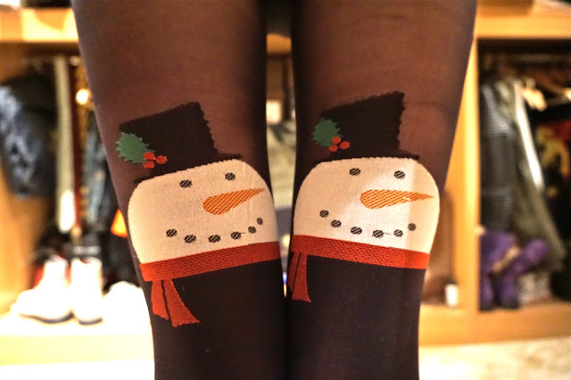 2bdcad6ca Step into Christmas - Pretty Polly Snowman Tights Review