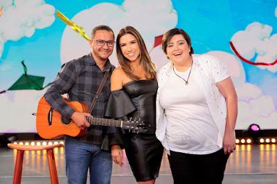 Músico, Patricia e Ana Vilela - Crédito: Lourival Ribeiro/SBT
