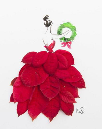 Real Rose Petal Cake Decoration