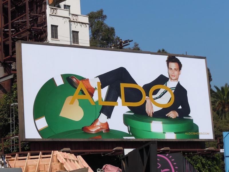 Aldo poker chip billboard