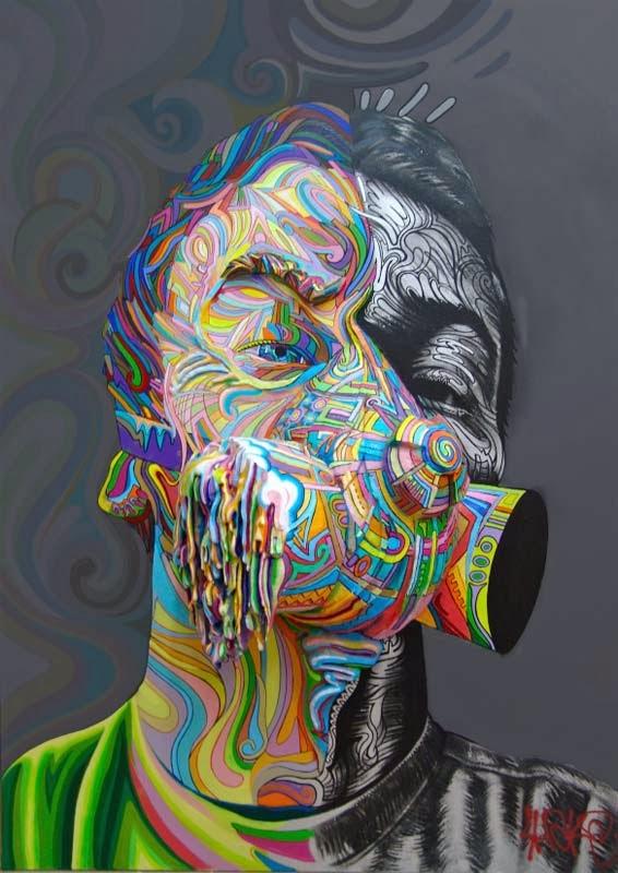 Las pinturas tridimensionales de Shaka