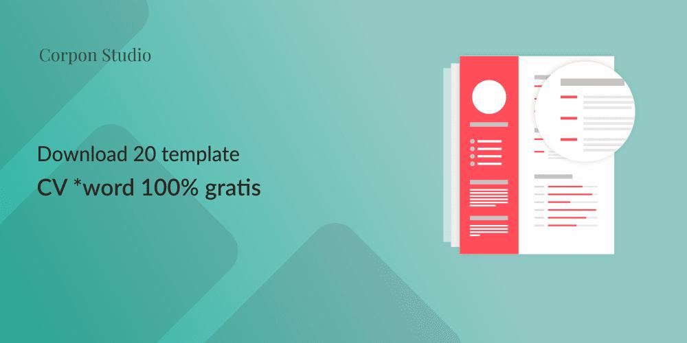 Download Template CV Word 100% Gratis