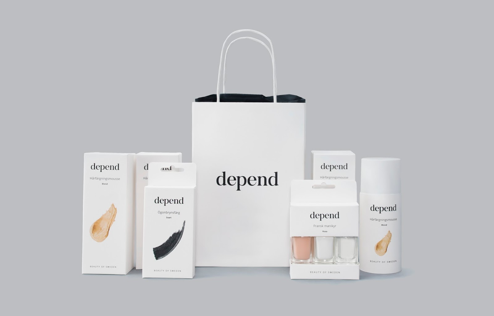 Depend Cosmetics Redesign Student Project On Packaging