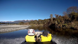 Jetboating the Ahaura River