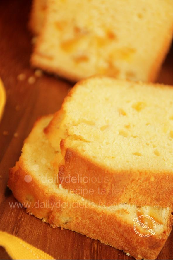 Orange Loaf Pound Cake