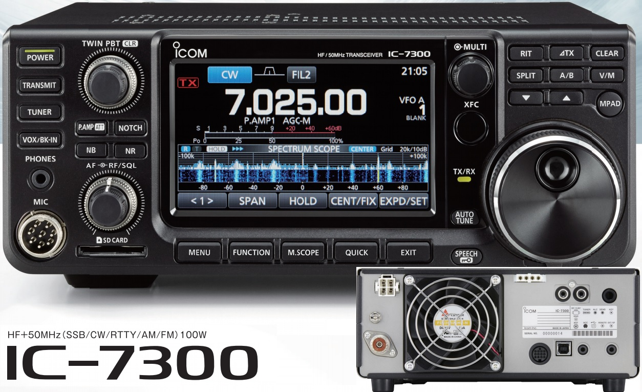 sv3auw: Icom IC-7300 review plus another FT-991 vs IC-7300
