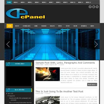 CPanel blogger template. download android news template for blogger. download seo blogger template