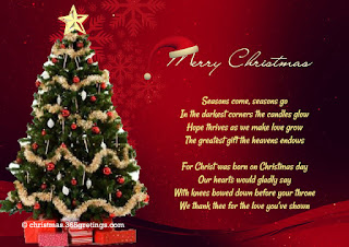 Merry Christmas Cards Quotes