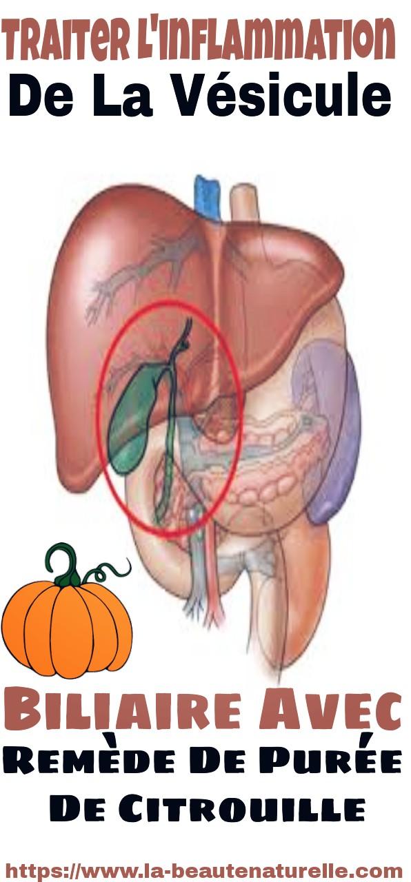 Traiter l'inflammation de la vésicule biliaire avec remède de purée de citrouille