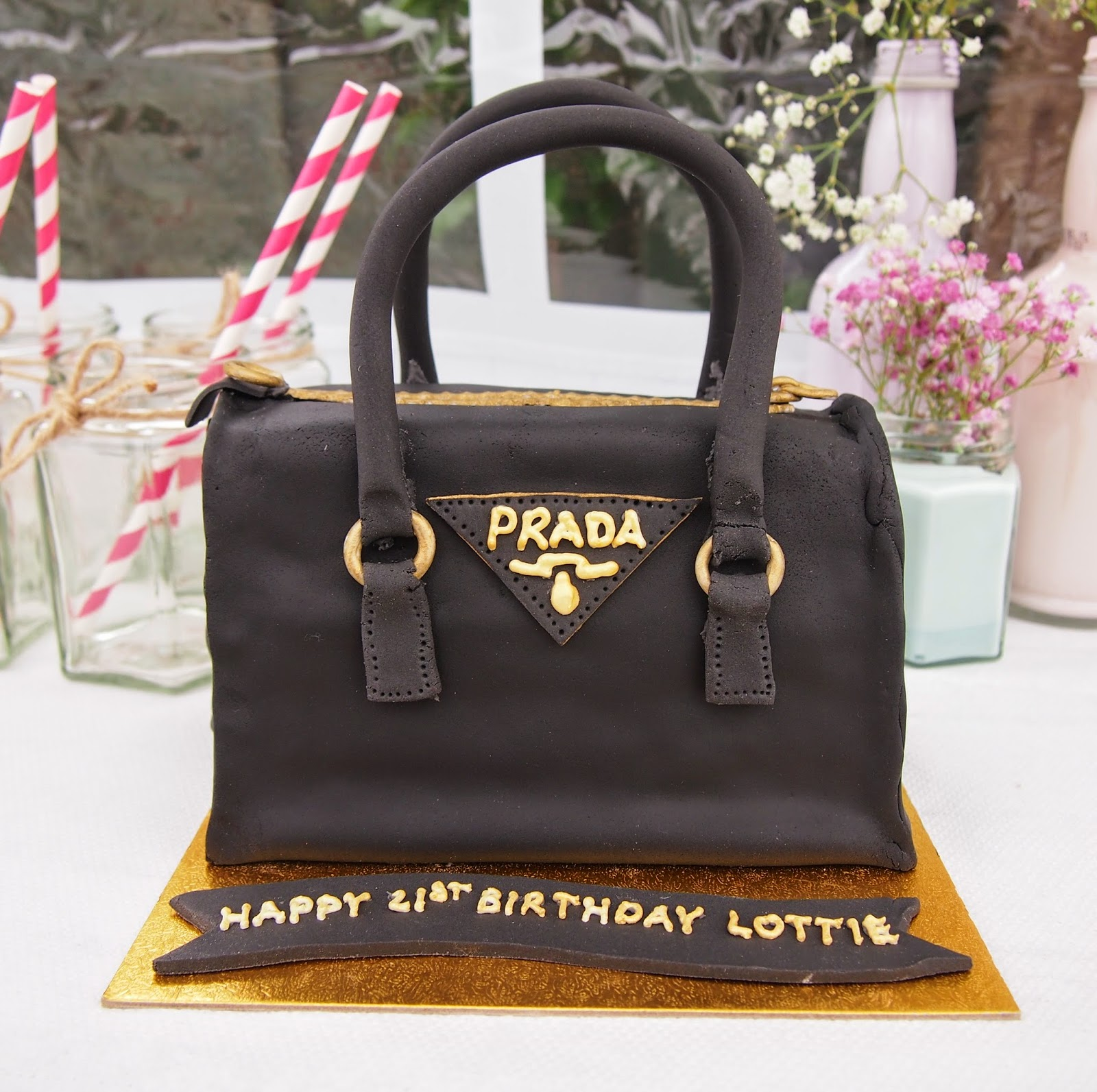 Lovely Lottie My Son Owen S Friend Is Celebrating Her 21st Birthday This Week And She Really Does Know Handbags I Hope Likes Cake Ve